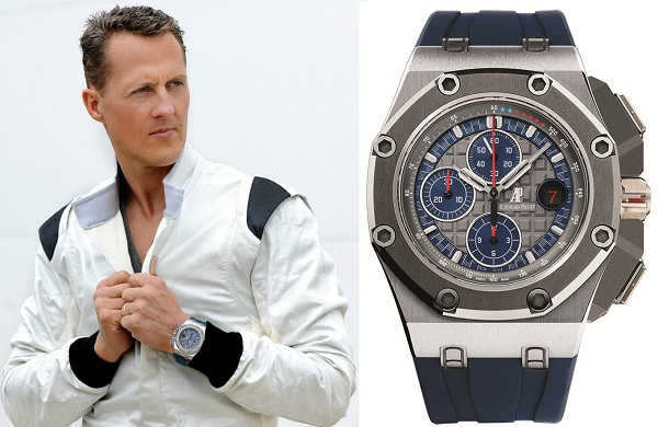 Michael Schumacher AP WATCH